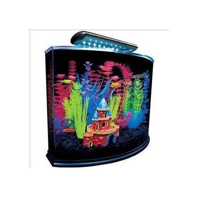 Glofish 5 Gal Aquarium Kit With Blue Led Light