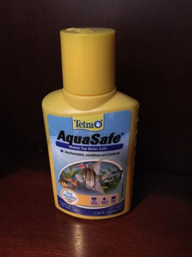 Tetra AquaSafe Plus Water Conditioner 16163, 3.38-Ounce (100mL)