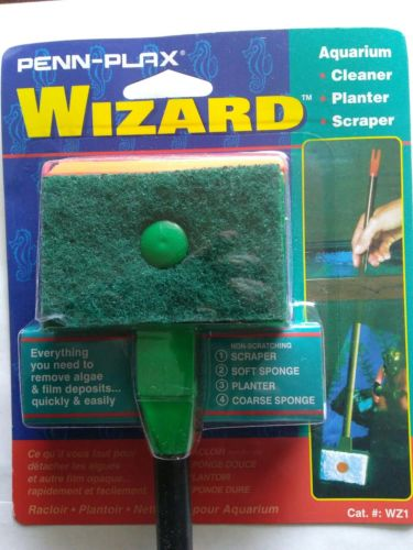 Penn Plax Wizard algae scraper
