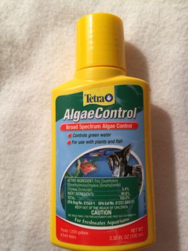 Tetra AlgaeControl Broad Spectrum Algae Control Water Treatment 3.38 fl oz 100mL