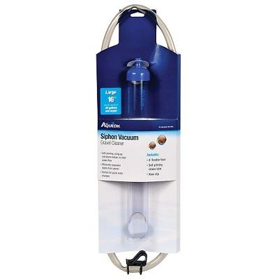 AQUEON - Siphon Vacuum Gravel Cleaner Large - 16 Inch