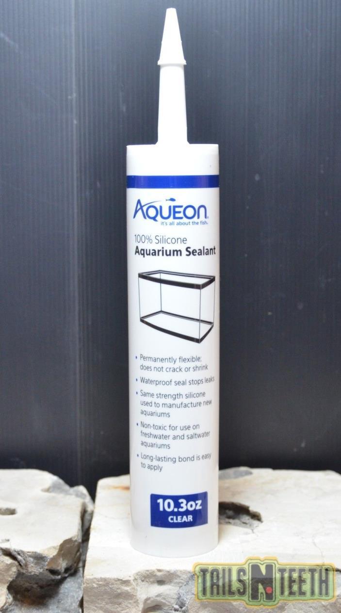 Aqueon Silicone Aquarium Sealant - Clear - 10.3 oz - Aquarium Sealant