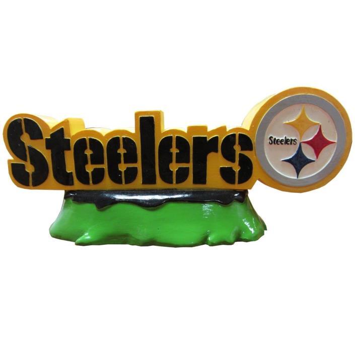 Pittsburgh Steelers NFL Pets First Team Logo Aquarium Tank Ornament