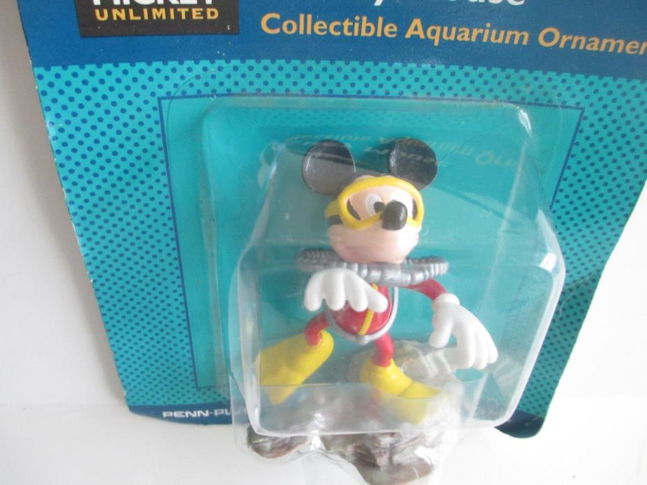 Mickey Mouse Aquarium Decoration Ornament Disney Fish Tank