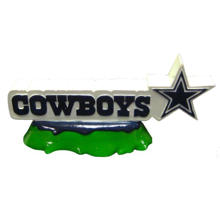 Dallas Cowboys NFL Pets First Team Logo Aquarium Tank Ornament