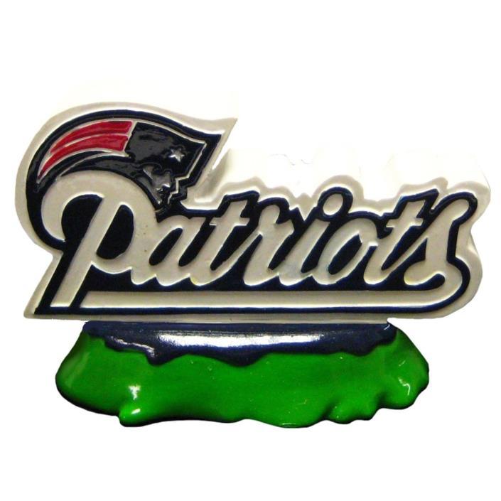 New England Patriots NFL Pets First Team Logo Aquarium Tank Ornament