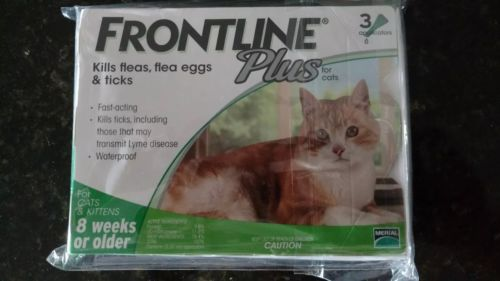 USA SELLER~ Frontline Plus For Cats 6 Month Supply FAST FREE SAME DAY SHIPPING