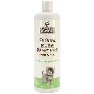 Natural Flea Shampoo For Cats 16.9oz   717108110042