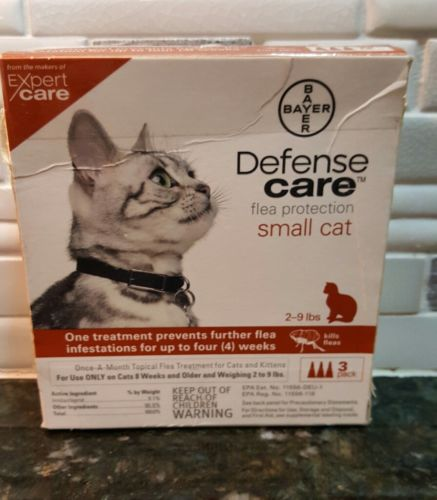 Bayer Defense Care Small Cats 2- 9 lbs  3 Pack
