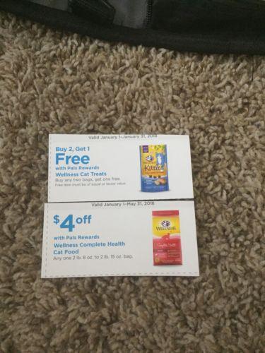 Petco coupon Wellness Cat Food