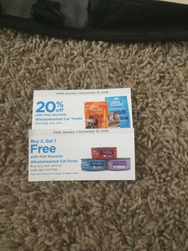 Petco Whole Hearted Cat Food And Treats