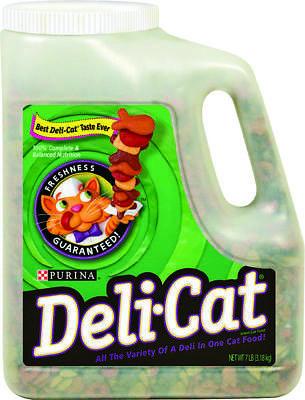 Nestle Purina 1780012507 Deli Cat Cat Food, Dry, 3.5 Lb