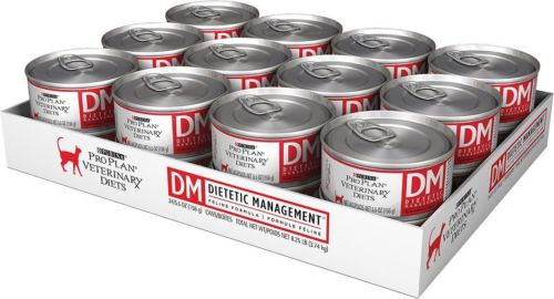 Purina DM Dietetic Management FELINE, Canned 24/5.5 oz