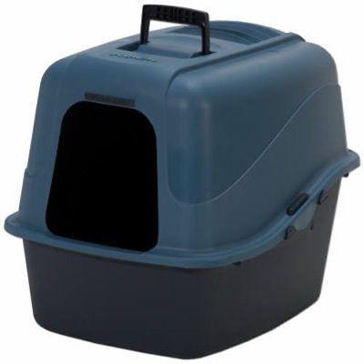 Petmate 22026 Jumbo Hooded Litter Pan Assorted Colors Cat Supplies Pet