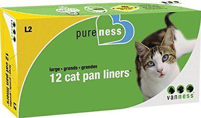 Van Ness Large Cat Pan Liners 12 Count Litter Boxes Supplies Pet