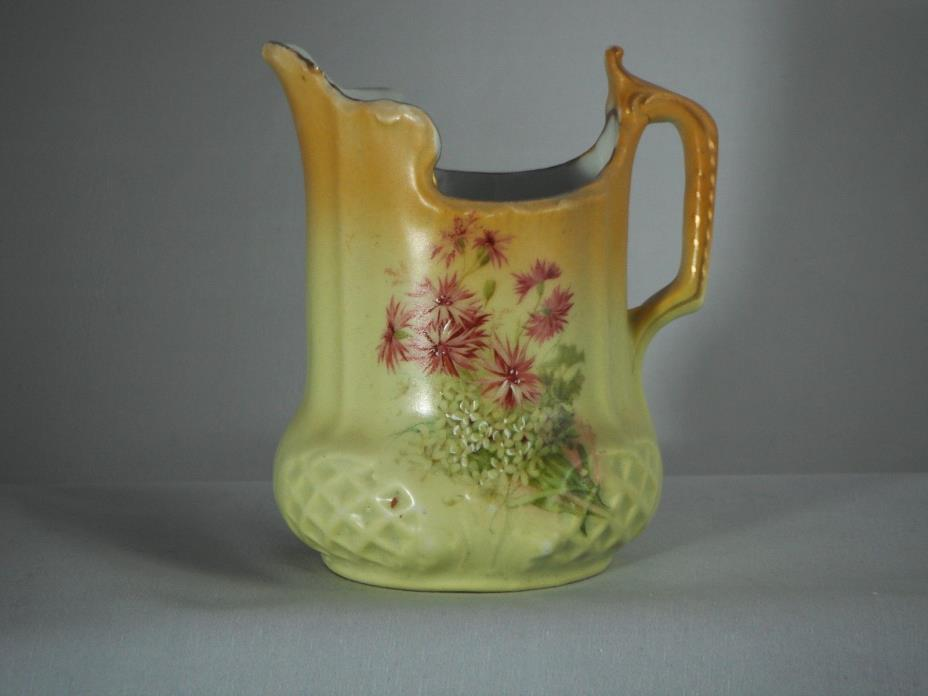 Vintage Victorian Cream Pitcher 4 3/4