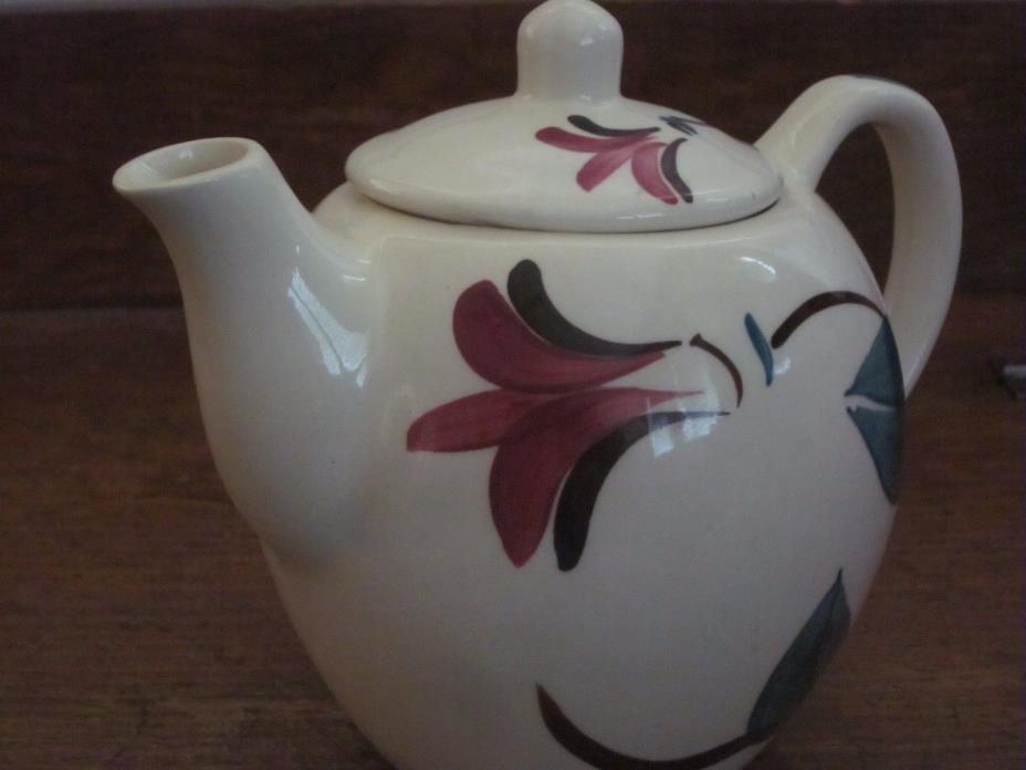 Purtian Tea Pot 1950's Petals