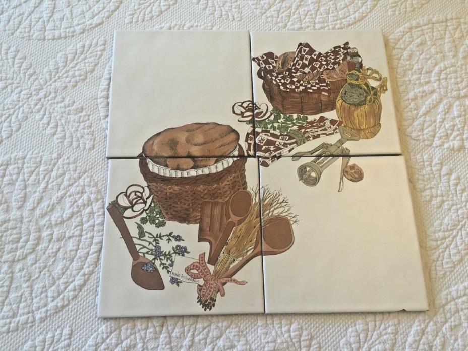 Vintage Spanish Kitchen Tiles