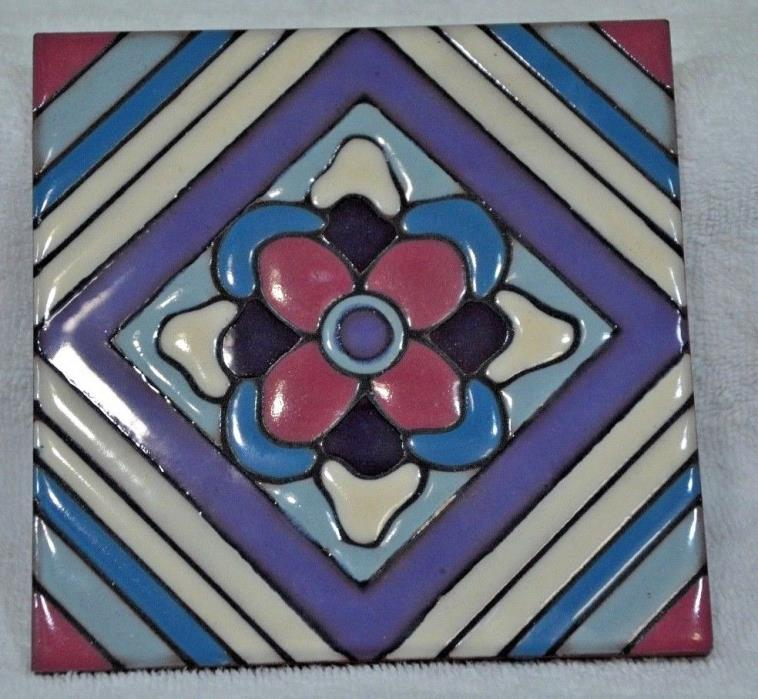 Vintage Ceramic Tile  Made in Italy 6