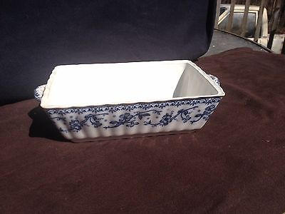 ANTIQUE CERAMIC TUREEN OR LOAF DISH BY DALE HALL POTTERY PELHAM ENGLAND