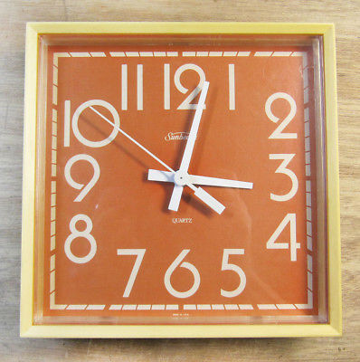 Cool Vintage Sunbeam Wall Clock - Not Working