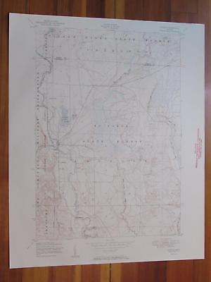 Lovells Michigan 1951 Original Vintage USGS Topo Map