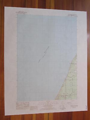 Manistee NW Michigan 1984 Original Vintage USGS Topo Map