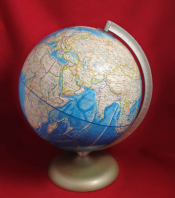 Vintage 1978 Rand McNally International Globe Made in USA  A-110000-269