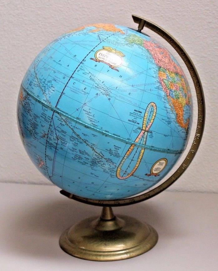 1990's Vintage Cram's Imperial World Globe 12