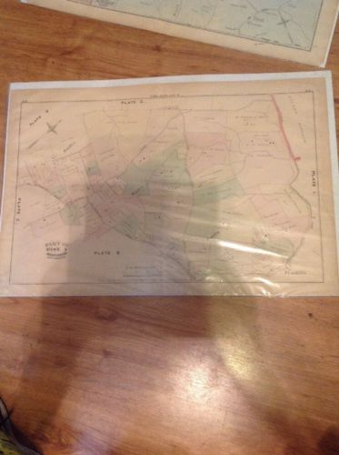 1877 G.M. Hopkins,Old Frederick Rd, Rolling Road Johnny Cake Road Maryland Map