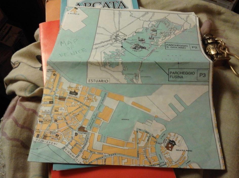 VENICE MAP 1978