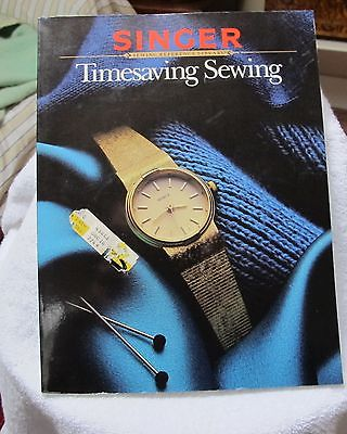 SINGER TIMESAVING  SEWING      REFERENCE LIBRARY
