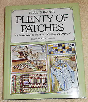 Plenty of Patches Hdbnd Book Patchwork Quilting Applique Projects 83p Ratner '78