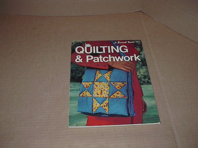 Quilting & Patchwork    Applique   Borders & Dividers  80 Pages  Soft Cover 1973