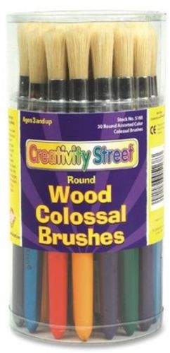 Creativity Street Colossal Paint Brush, Assortment