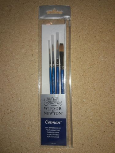 Set of brushes, Cotman, No. 604 Winsor & Newton with 4 Pc.