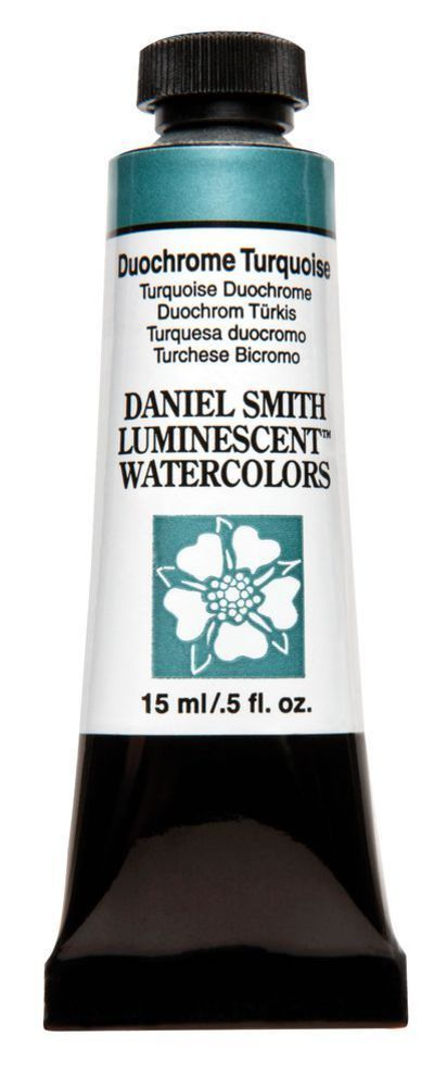 Daniel Smith Extra Fine Watercolor 15 ml Duochrome Turquoise 640043 Ser 1 NEW