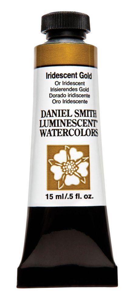 Daniel Smith Extra Fine Watercolor 15 ml Iridescent Gold 640017 Ser 1 NEW