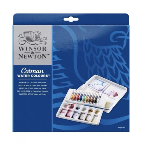 Winsor & Newton Cotman 13 piece Professional Water Colours Set