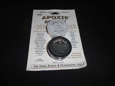 APOXIE SCULPT 1/4  POUND WHITE MODELING COMPOUND BY AVES