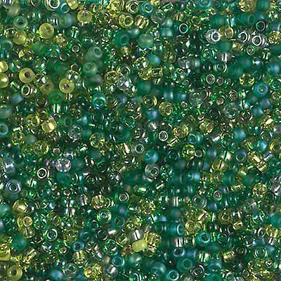 11/0  Evergreen Miyuki RoundSeed Beads 10 Grams