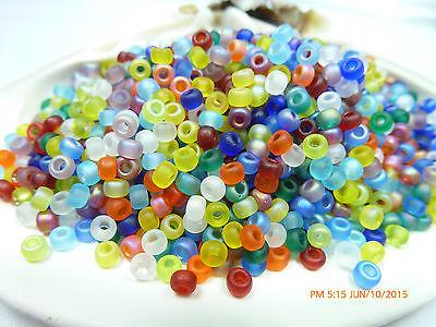 8/0  Circus Mix Miyuki  Glass Round Seed Beads 10 Grams