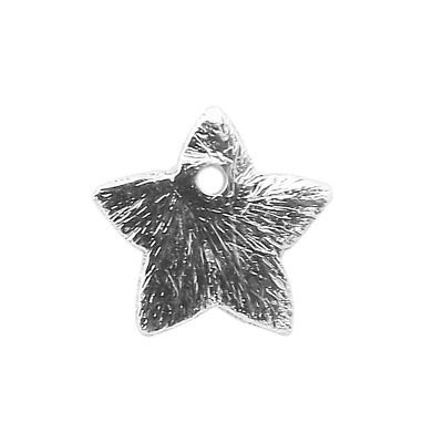 Silver Overlay Star Shape Chip Bead BSF-373