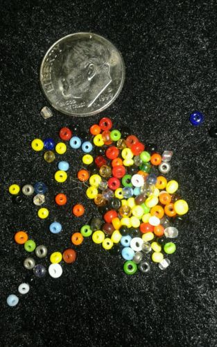 1 Lb Pound Bulk Tiny Seed Beads Assorted