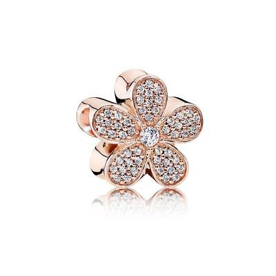 Authentic Pandora Rose Gold Dazzling Daisy Charm 781480CZ BRAND NEW