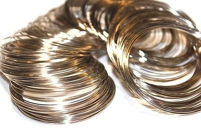 25pc Steel Memory Wire 1-3 day Shipping