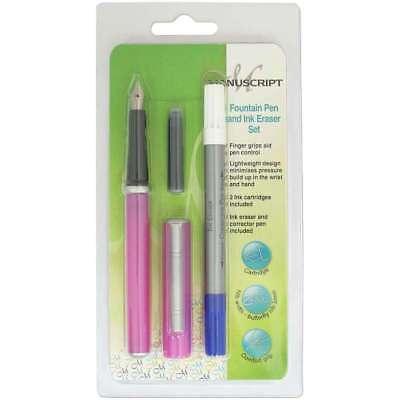 Manuscript Classic Fountain Pen W/Eraser        499994129420