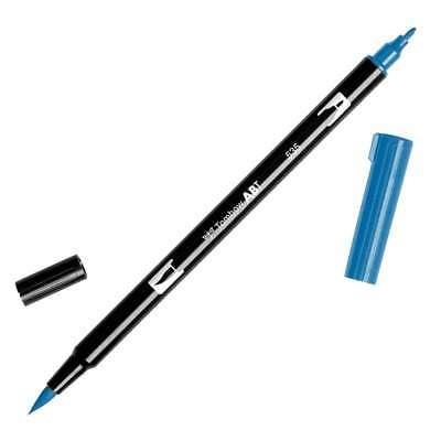 Tombow Dual Brush Marker Open Stock 535 Cobalt Blue 085014565622