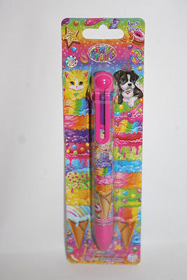 NIP Lisa Frank 6 Color Chamber Ballpoint Pen Six Color Pen