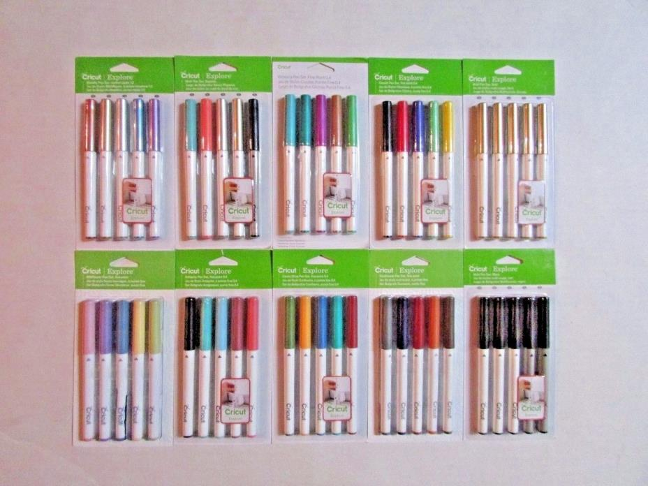 New Cricut Explore Pen Sets